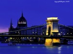 Chain Bridge and Parliament, Budapest