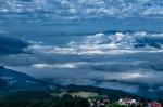 Valea Jiului from the sky