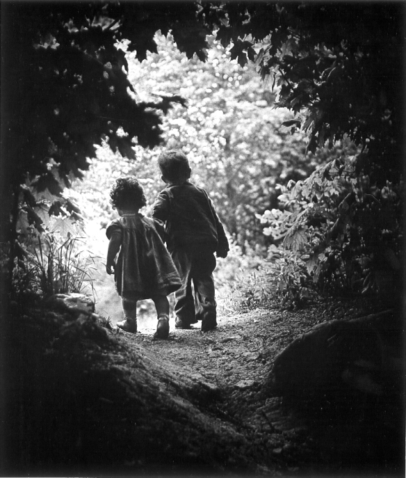 "Eugene Smith - ""The walk in paradise garden"""
